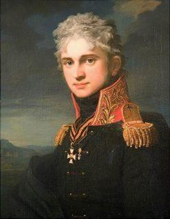 Portrait of Count Pavel Stroganoff | Jean Laurent Mosnier | Oil Painting