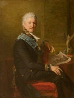 Portrait of Count Alexander Stroganoff