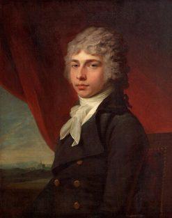 Portrait of a Young Gentleman | Jean Laurent Mosnier | Oil Painting