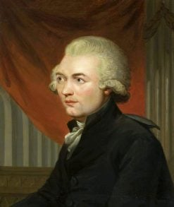 Portrait of Georg Joseph Vogler | Carl Fredrik von Breda | Oil Painting