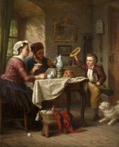 Home from School | Johann Hermann Kretzschmer | Oil Painting