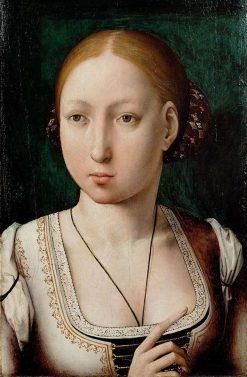 Johanna die Wahnsinnige | Juan de Flandes | Oil Painting
