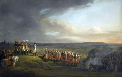 Napoleon takes the surrender of General Mack and the Austrians at Ulm on October 20