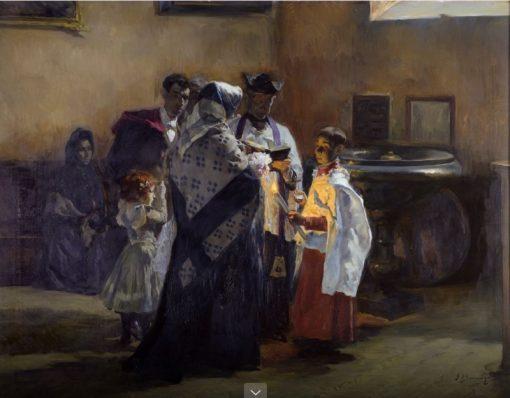 Un ciudadano más | Jose Bermejo y Sobera | Oil Painting