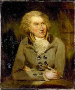 Portrait of Bernt Anker   Carl Fredrik von Breda   Oil Painting