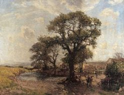 The Farm Pond | Frederick William Jackson | Oil Painting