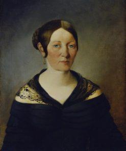 Portrait of a Lady   Johann Baptist Reiter   Oil Painting