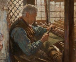The Old Weaver | Frederick William Jackson | Oil Painting