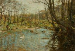 The Stream | Frederick William Jackson | Oil Painting