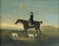 A Man on Horseback | John Nost Sartorius | Oil Painting