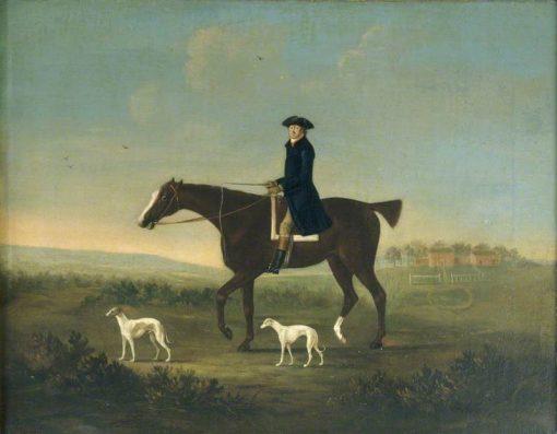 A Man on Horseback | John Nost Sartorius | Oil Painting