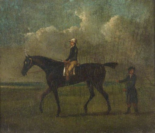 A Racehorse with Jockey up and an Attendant | John Nost Sartorius | Oil Painting