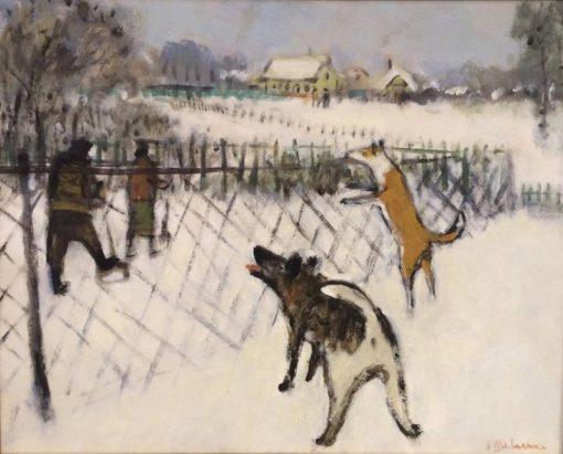 Winter   Alexander Shevchenko   Oil Painting
