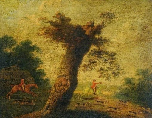 Fox Hunting | John Nost Sartorius | Oil Painting