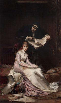 Le Reveil du Coeur | Anatole Vely | Oil Painting