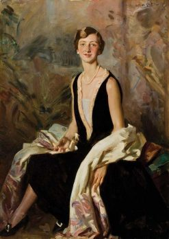 Portrait of a Lady | Wilfred Gabriel De Glehn | Oil Painting
