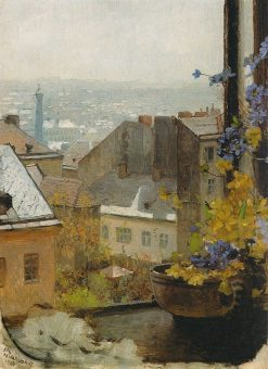 Master Schindlers Window | Carl Julius Rudolf Moll | Oil Painting
