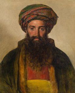 A Turkish Man | Friedrich von Amerling | Oil Painting
