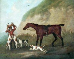 The Death | John Nost Sartorius | Oil Painting