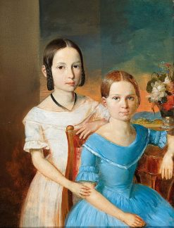 Sisters | Leopold Fertbauer | Oil Painting