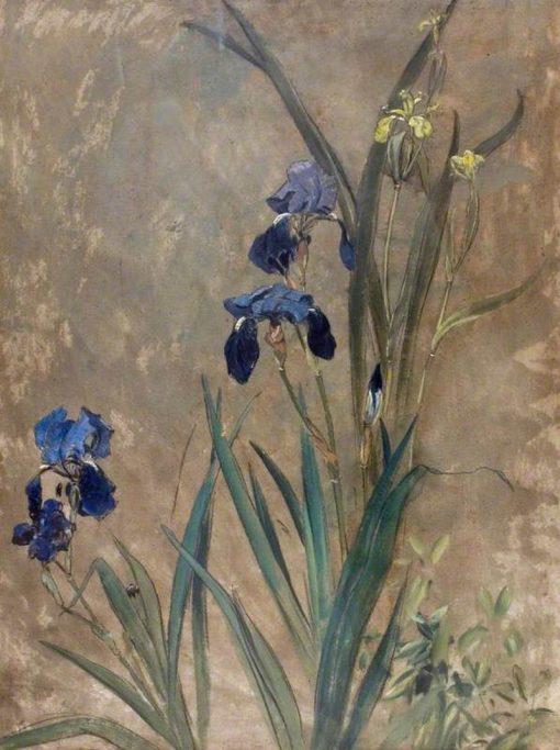 Irises | Rudolf Ribarz | Oil Painting