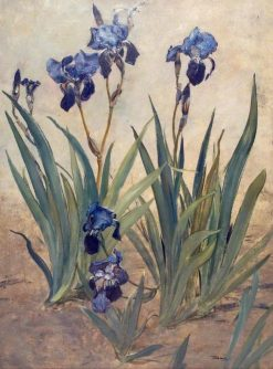 Irises | Rudolf Ribarz | Oil Painting