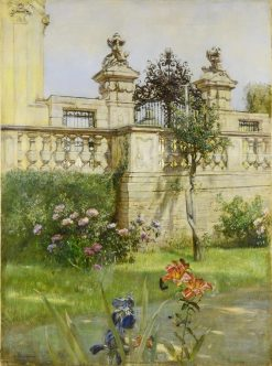 Motif from Belvedere | Rudolf Ribarz | Oil Painting