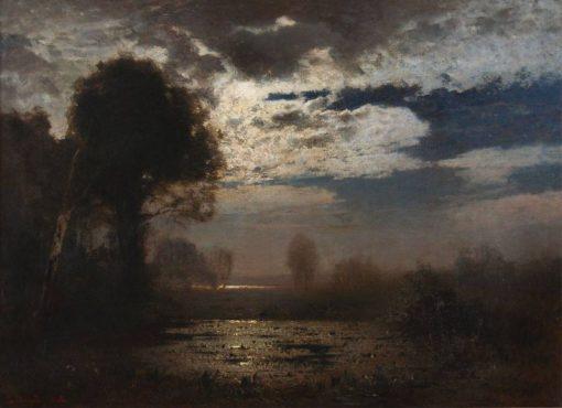Moonlight | Louis Douzette | Oil Painting