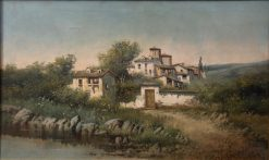 Country Landscape | Jose Franco Cordero | Oil Painting