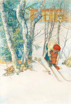 Champion | Carl Larsson | Oil Painting