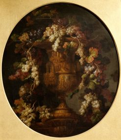 Vase with Fruit | Jean-Baptiste Belin de Fontenay | Oil Painting