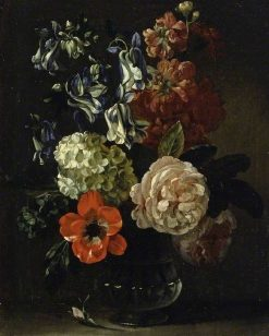 Vase of Flowers | Jean-Baptiste Belin de Fontenay | Oil Painting