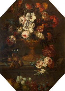 Flowers | Jean-Baptiste Belin de Fontenay | Oil Painting