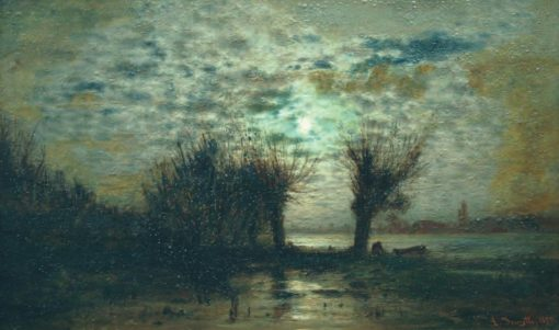 Moonlight | Louis Douzette | Oil Painting
