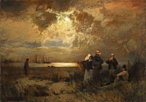 Landscape near Werder | Louis Douzette | Oil Painting
