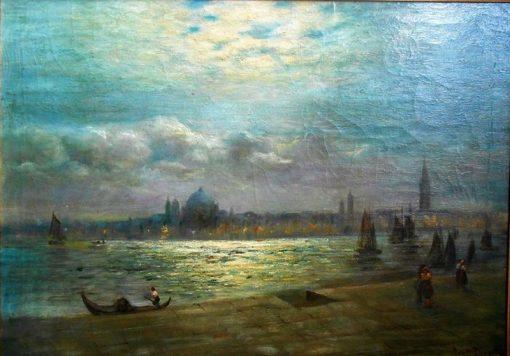 Venice | Louis Douzette | Oil Painting