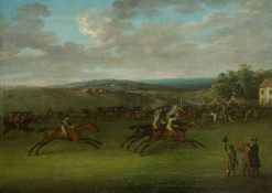 The Second Year of the Derby Stakes at Epsom | John Nost Sartorius | Oil Painting