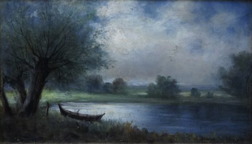 On the Lake | Louis Douzette | Oil Painting