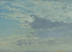 Cloud Study | Louis Douzette | Oil Painting