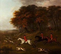 View Halloo | John Nost Sartorius | Oil Painting