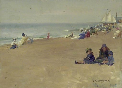 A Summers Day | George Percy Jacomb-Hood | Oil Painting