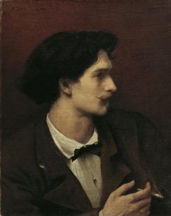 Self Portrait | Anselm Feuerbach | Oil Painting