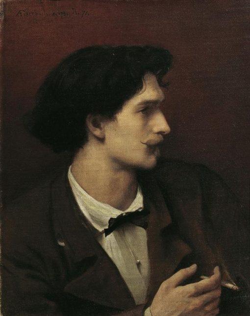 Self Portrait | Anselm Feuerbach | Oil Painting