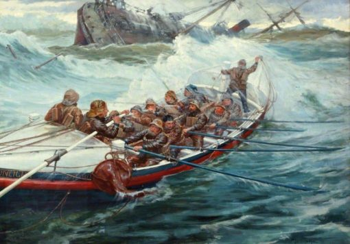 Lifeboat | George Percy Jacomb-Hood | Oil Painting