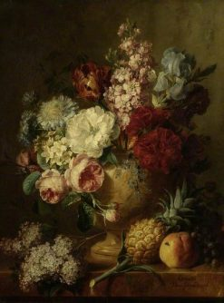Vase of Flowers | Cornelis van Spaendonck | Oil Painting