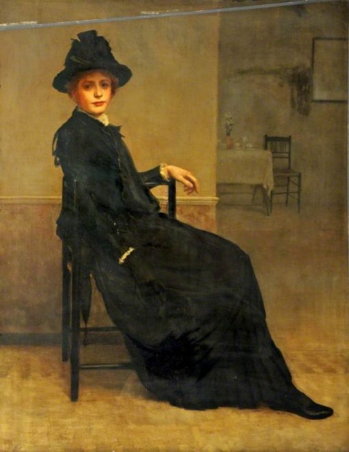 My Sister | George Percy Jacomb-Hood | Oil Painting