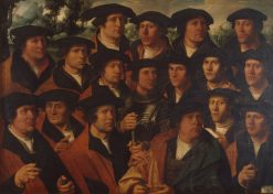 Group Portrait of the Amsterdam Shooting Corporation | Dirck Jacobsz. | Oil Painting