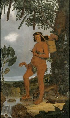 Tapuia Woman | Albert Eckhout | Oil Painting