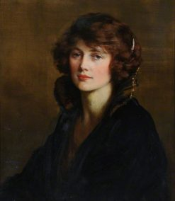 Portrait of a Lady | George Percy Jacomb-Hood | Oil Painting