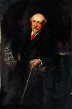 Portrait of an Elderly Gentleman | George Percy Jacomb-Hood | Oil Painting